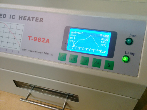 T-962A reflow oven